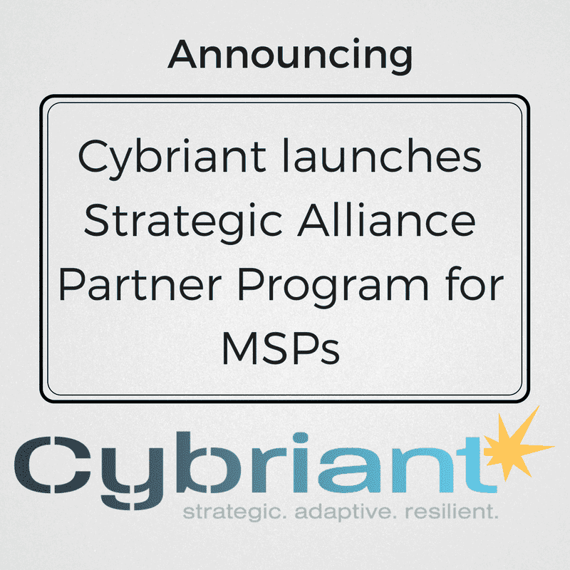 Cybersecurity firm Cybriant Launches Strategic Alliance Partner Program for MSPs