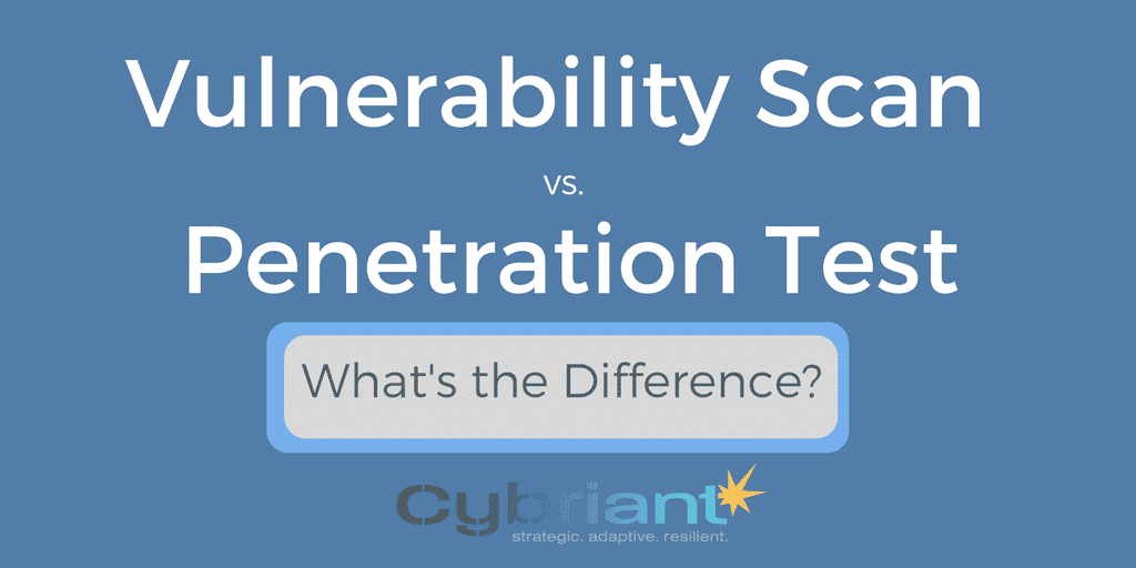 Infographic: Vulnerability Scan vs. Penetration Test
