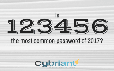 THIS was the most common password in 2017?