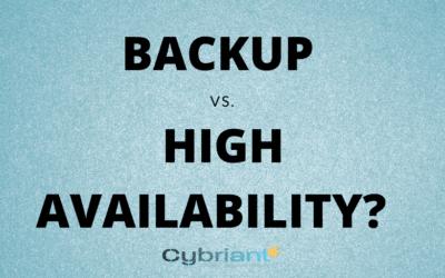 [Video] Backup vs. High Availability