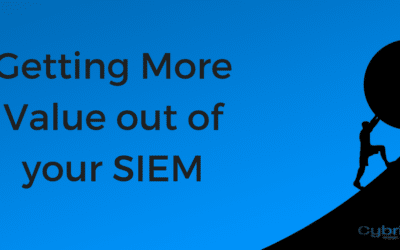 Getting More Value out of your SIEM