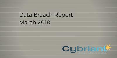 March 2018 Data Breach Update
