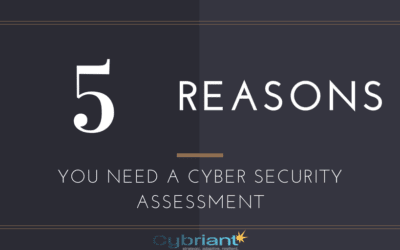 5 Key Reasons You Need a Cyber Security Assessment