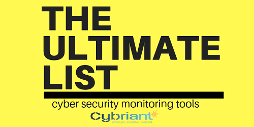 cyber security monitoring tools
